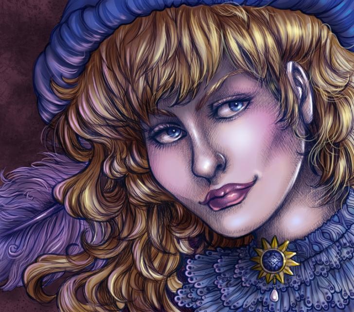 lady minstrel
