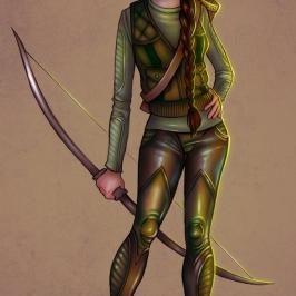Katniss Everdeen | Digital, 2013