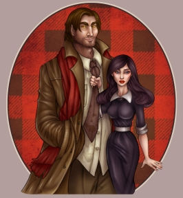 Snow White and Bigby Wolf   Digital, 2013