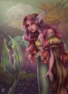Mermaid II | Digital, 2014
