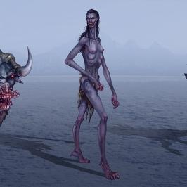 Dark Realm creatures