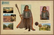 Earthsea - Ged Hunter costume concepts   Digital, 2015