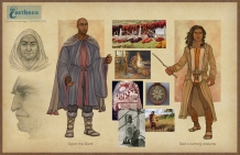 Earthsea - Gont costume Coming of Age concepts   Digital, 2015
