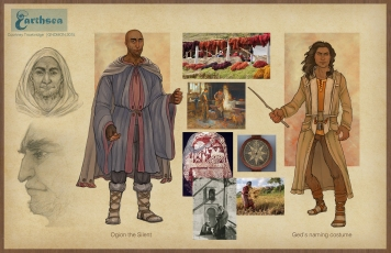Earthsea - Gont costume Coming of Age concepts