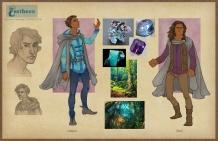 Earthsea - Roke costume concepts   Digital, 2015
