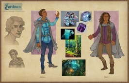 Earthsea - Roke costume concepts | Digital, 2015
