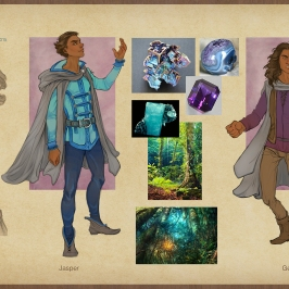 Earthsea - Roke costume concepts