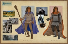 Earthsea - Low Torning & Osskil costume concepts   Digital, 2015