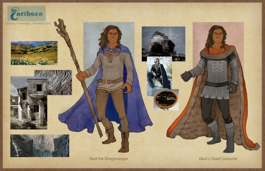 Earthsea - Low Torning & Osskil costume concepts