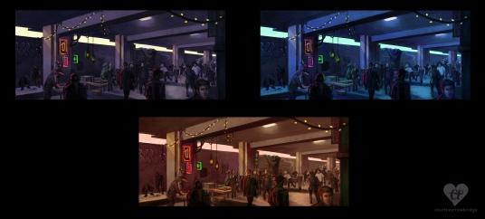 Underground Market color comps   Digital, 2015