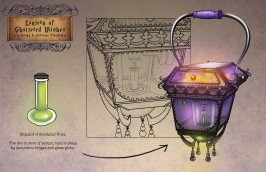 Dark Storybook Lantern 2 | Digital, 2015