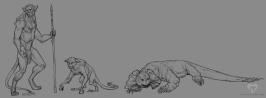 Earth 2.0 creatures | Digital, 2015