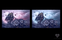 Freya - color studies | DIgital, 2015
