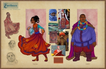 Earthsea Eastern Provinces Costumes