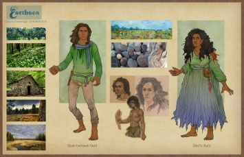 Earthsea Gont costumes