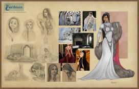 Earthsea Serret costumes
