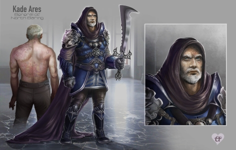 Kade Ares - character concept