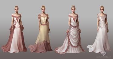 Mistborn Steris costume concepts