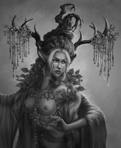 Thai Dryad portrait
