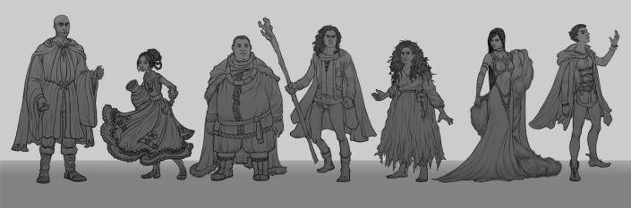 Earthsea - character lineup