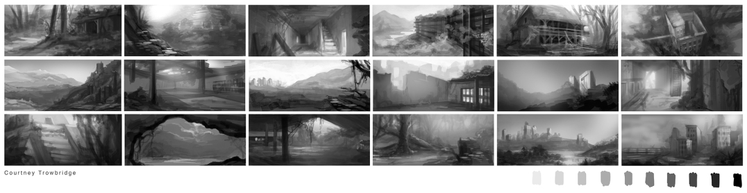 Growth vs Decay environment thumbnails