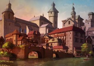 Romanesque Old City